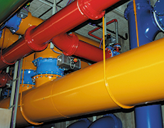 Water treatment plant Tubes